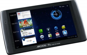 Archos 70b IT - inca o tableta ieftina cu Android 3.2 Honeycomb