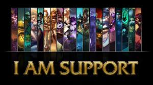 I am support