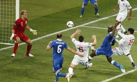 Anglia vs Italia 2014