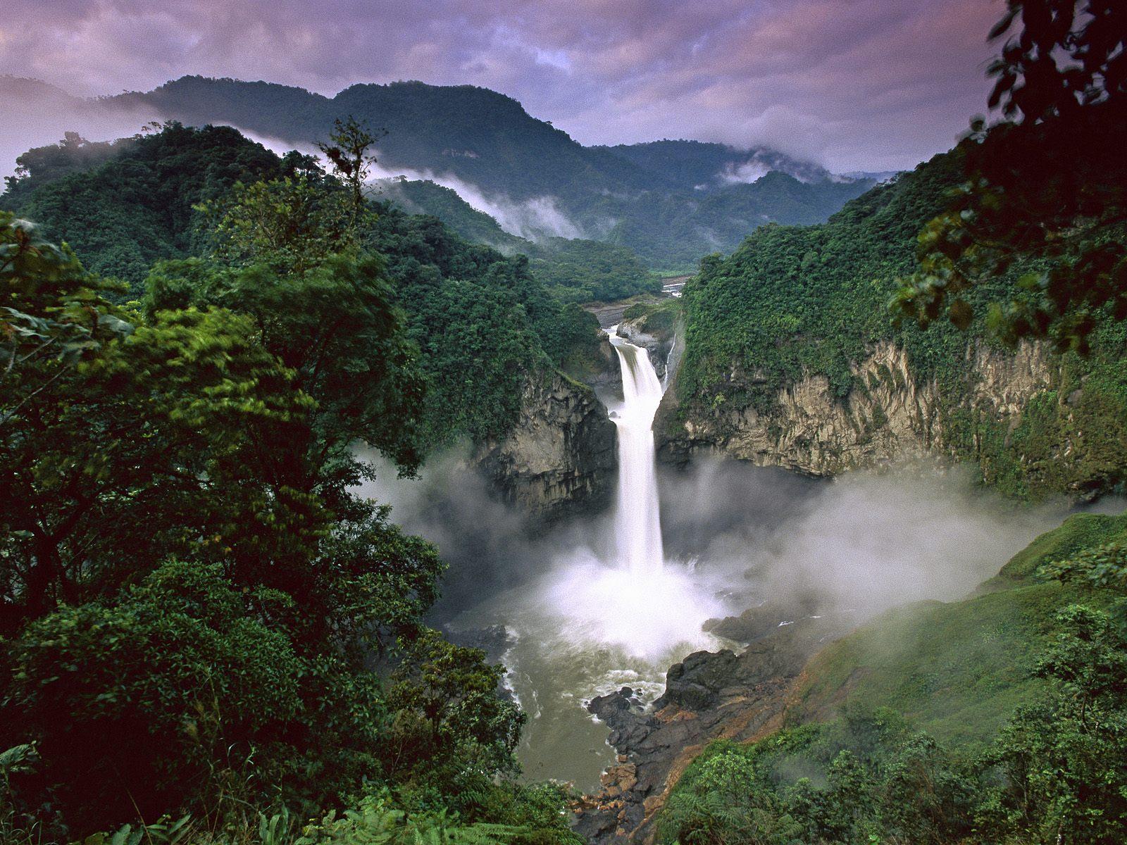 Cascada Amazoniana